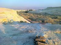 מיקום הגילגל המקראית בקצה מזרח יריחו