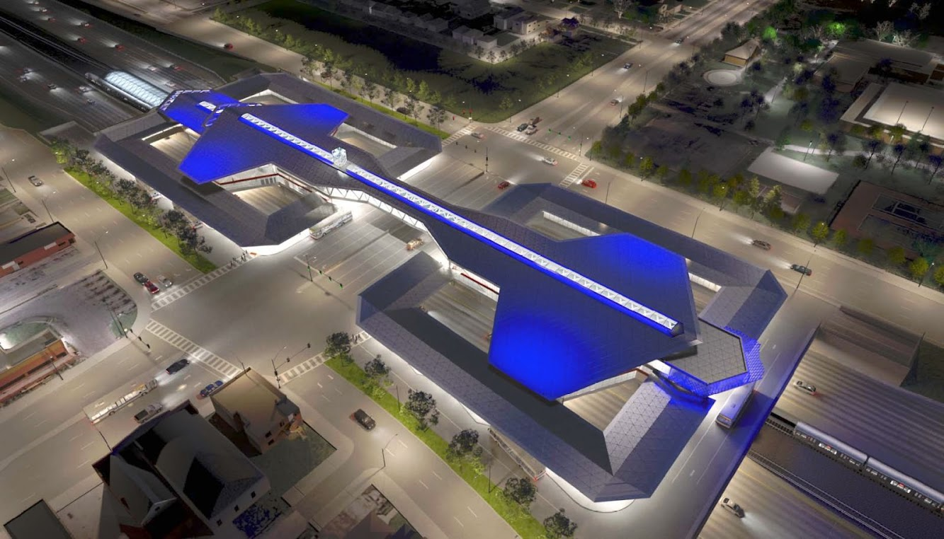 Chicago, Illinois, Stati Uniti: Renovations of the 95TH/Dan Ryan Terminal Station