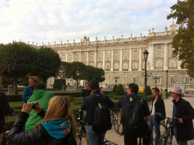 Studiereis Madrid 2013 - Fietstocht