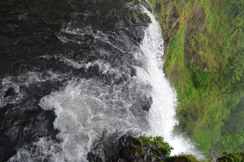 Водопад Малтнома, штат Орегон (Multnomah Falls, OR)