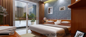 Thiết kế nội thất phòng ngủ lớn