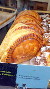 St. Honoré Boulangerie, Chausson aux Pommes, French style turnover with apple sauce filling