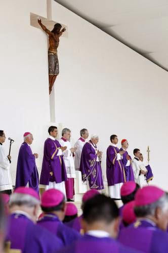 Pope Benedict Xvi In Mexico Para Que Cristo Reine