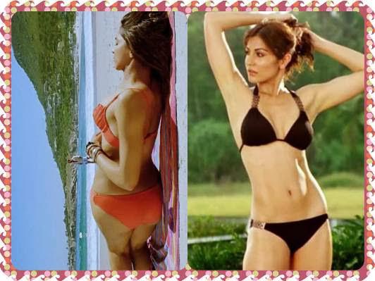 The Rise of the Bollywood Bikini - Deepika Padukone and Anushka Sharma of the current generation are very comfortable wearing a bikini on screen