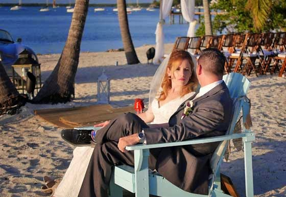 Beach wedding packages, Florida beach weddings.