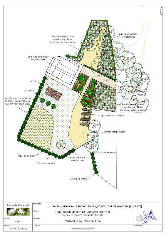 diseño de jardín paisajismo proyecto de jardín bajo mantenimiento césped semillas bajo coste planos de jardinería