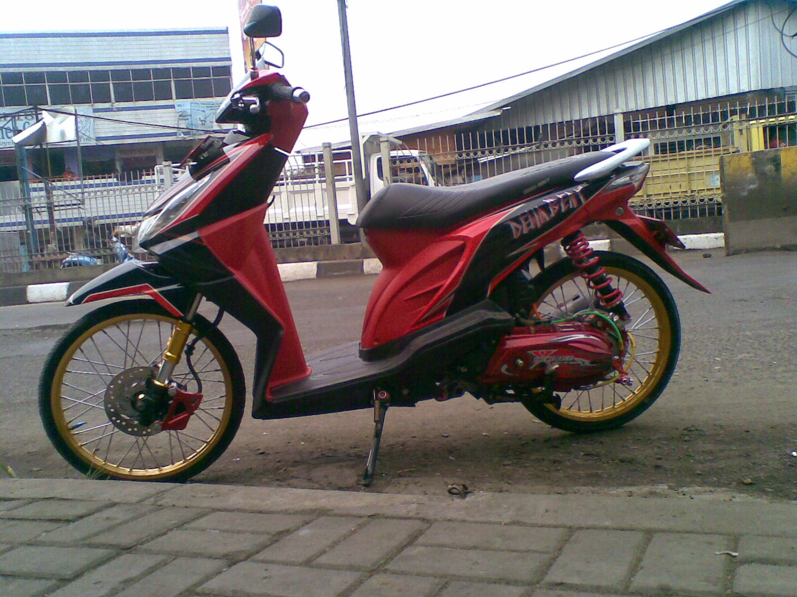 Modifikasi Honda Beat Tahun