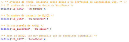 datos-wp-config-para-configurar-wordpress