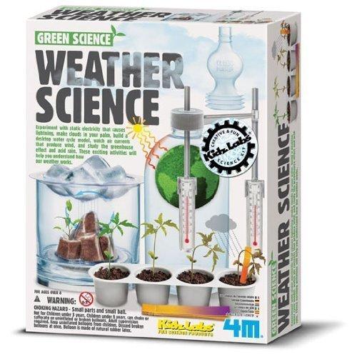 Jugetes y libros sobre meteorología para Los Reyes Magos