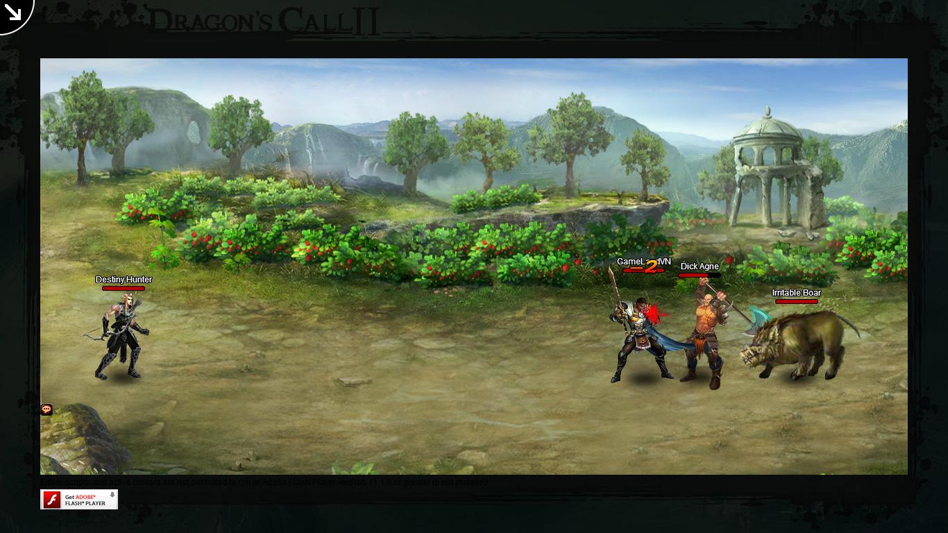Một số hình ảnh về webgame Dragon's Call 2 - Ảnh 23