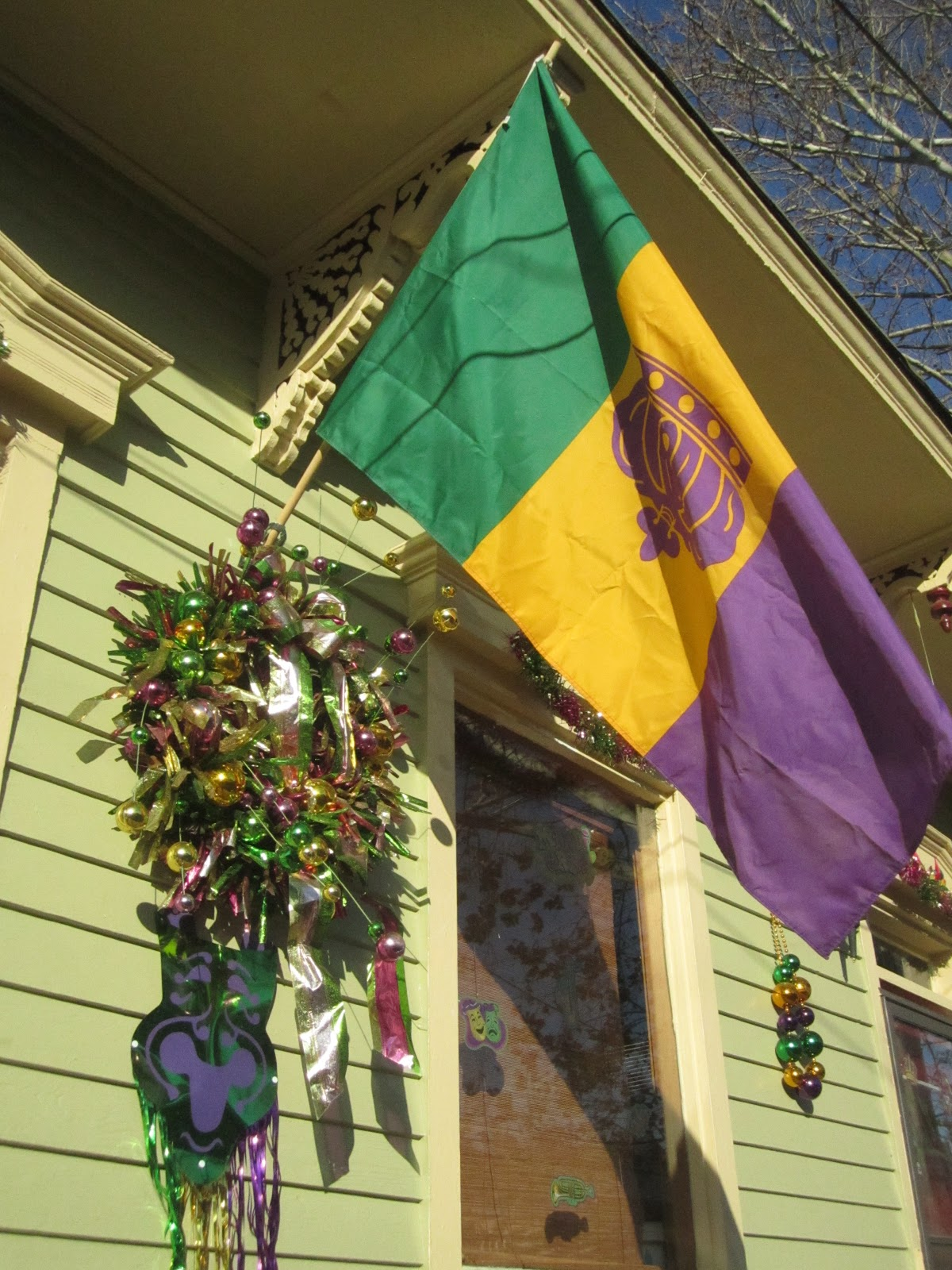 Bywater Boo ly in New Orleans Mardi Gras Home Decor Edition