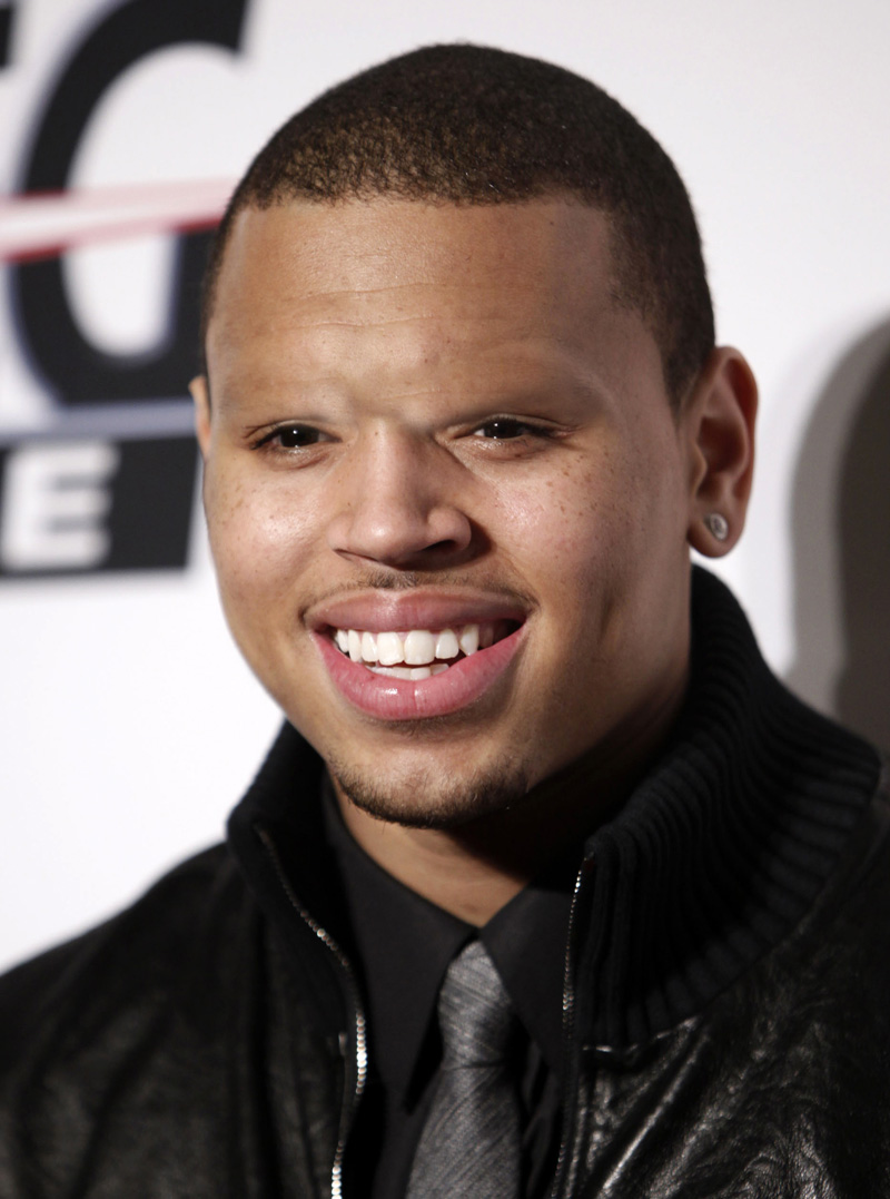 Celebs Without Eyebrows Chris Brown