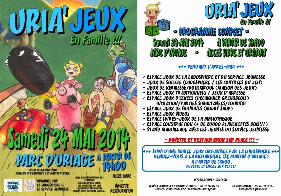 Uria'jeux 2014
