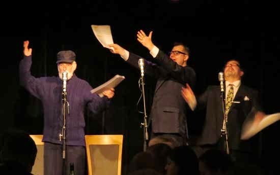 Opening night The Goon Show LIVE! Yulefest 2014 at The Clarendon