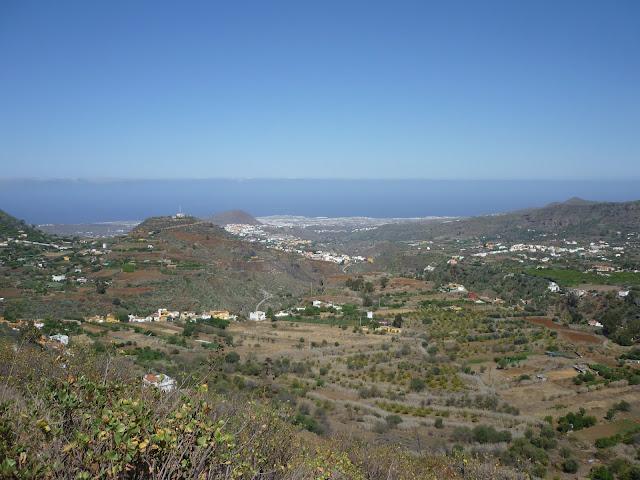 Blick auf den Norden Gran Canarias