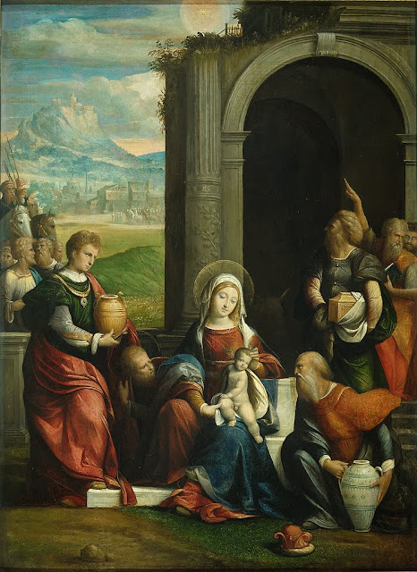 Garofalo - The Adoration of the Magi
