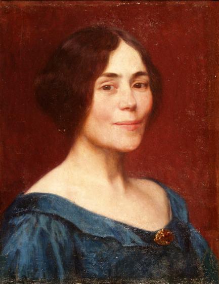 Elin Danielson-Gambogi - Self-portrait, 1899