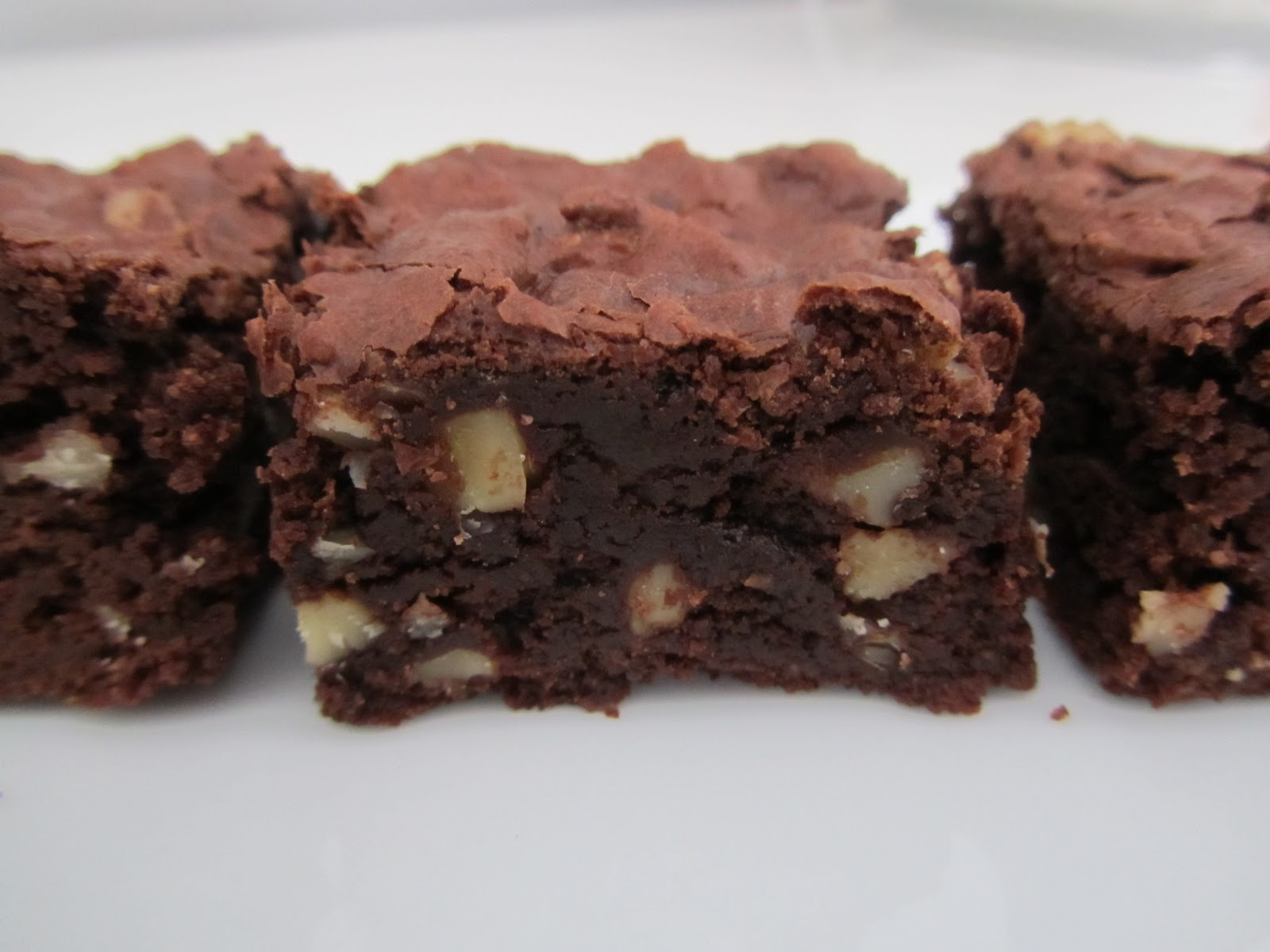 this free bird: Cocoa Brownies with Browned Butter and Walnuts (Gluten ...
