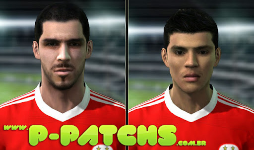 Enzo Perez e Nelson Oliveira Faces P-Patchs Pes 2011 Download