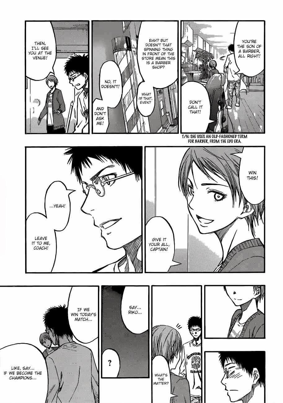 Kuroko no Basket Manga Chapter 229 - Image 04
