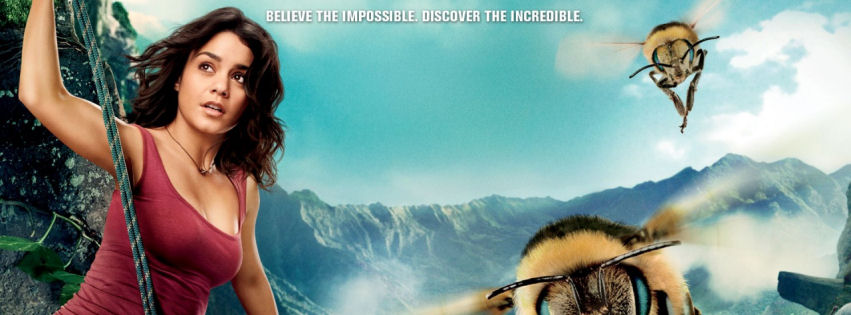 Vanessa Hudgens in journey mysterious island facebook cover