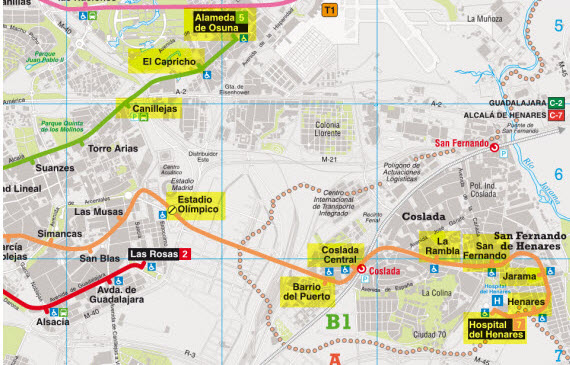 Abre el tramo de la línea 7 entre Estadio Olímpico y Hospital del Henares
