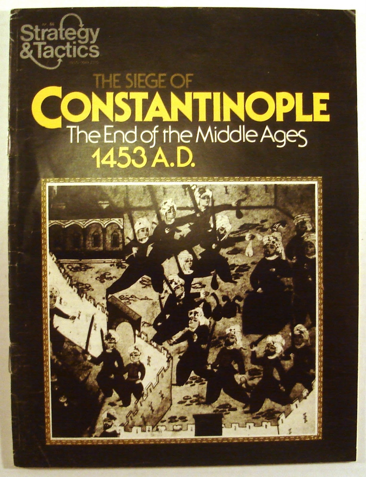 Variant Counters Siege of Constantinople S/&T 66 SPI