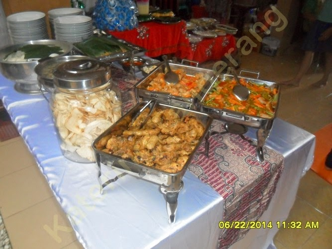 Catering prasmanan Cikupa Tangerang