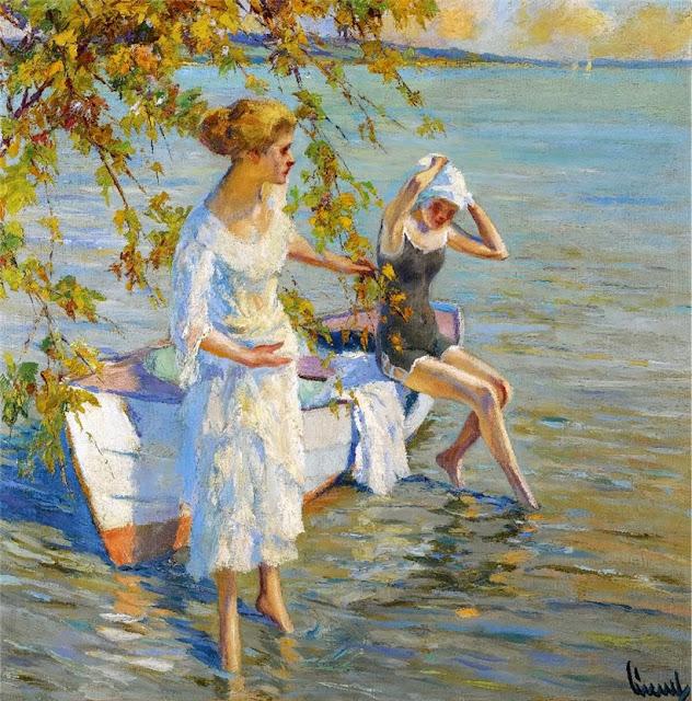 Edward Cucuel - The Bathers