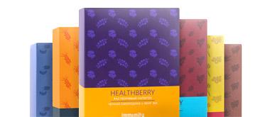 Гринвей HEALTHBERRY - Палитра растворимых ягодных напитков