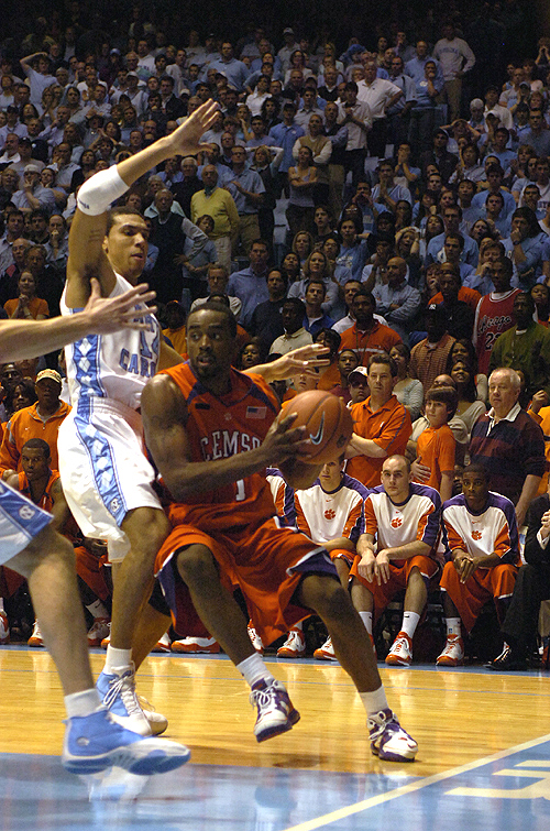 Clemson at North Carolina Photos - 2008, Basketball, North Carolina