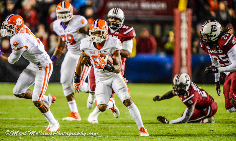Clemson vs. South Carolina - McInnis Photos - 2013, Football, MarkMcInnisPhotography.com, South Carolina
