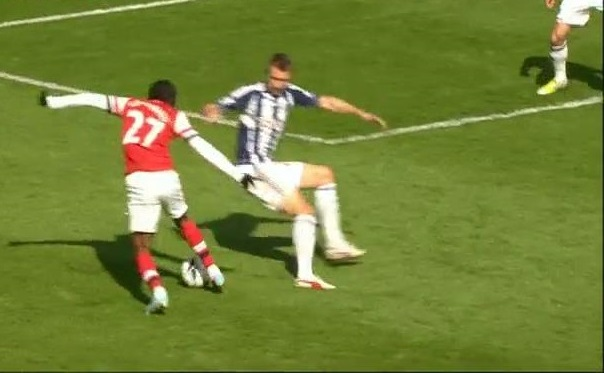 Gervinho, WBA - Arsenal