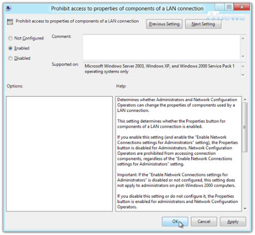 Prohibit-access-to-properties-of-components-of-a-LAN-connection