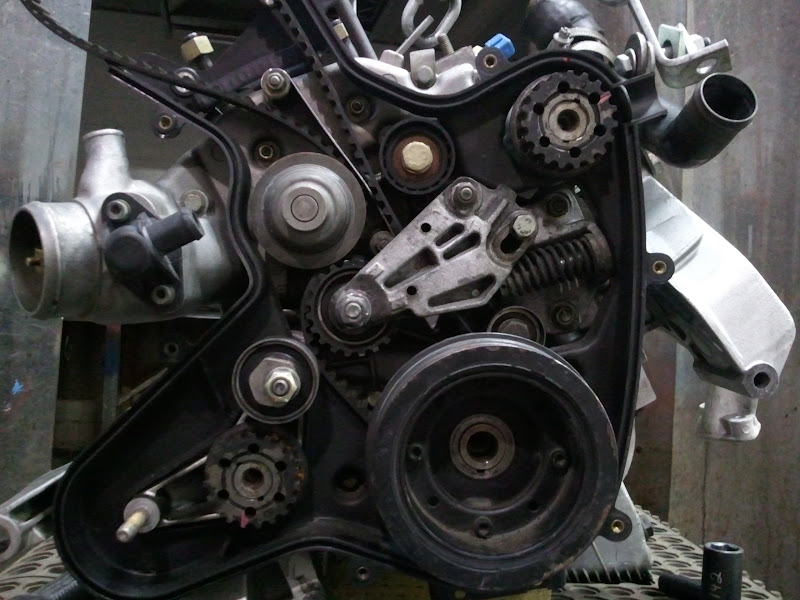 extra timing belt roller on s and s2 rennlist porsche timing belt change porsche timing belt #12