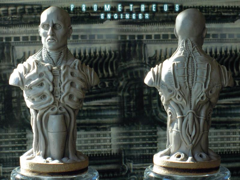 Prometheus engineer bust 1/10 Ingenieur05