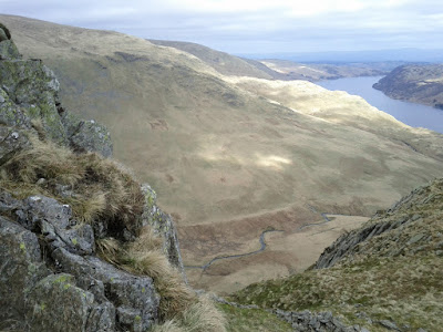 View from Rough Crag, below High Street