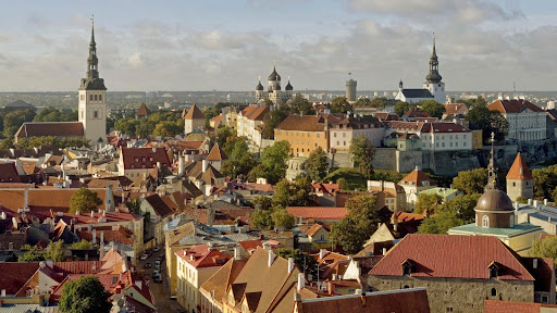 View From St. Olaf Church, Tallinn, Estonia.jpg