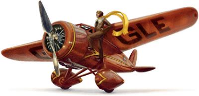 Google Doodle 115. Geburtstag von Amelia Earhart