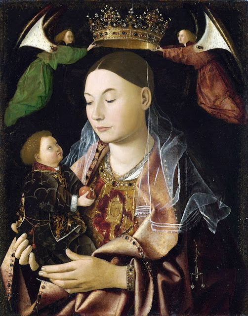 Antonello da Messina - Madonna Salting