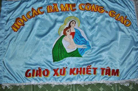 Hình ảnh lễ bổn mạng các Bà Mẹ Công Giáo tại Giáo xứ Khiết Tâm