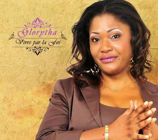 L'affiche de la chanteuse congolaise de Gospel, Glorytha. Photo Droits Tiers.
