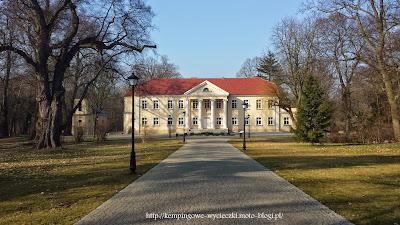 Na zdjęciu Pałac w Kopaszewie