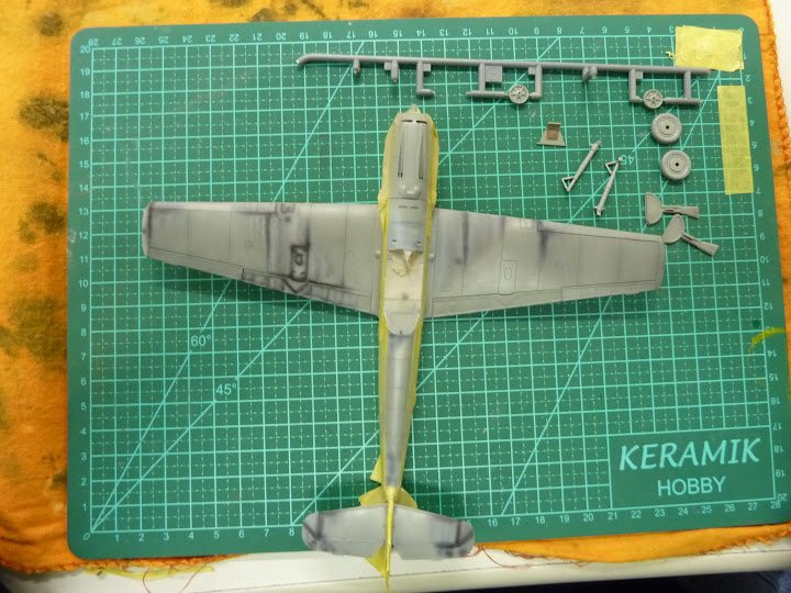 Bf-109 E-3 Tamiya 1/48 - Reforma pintura P1020479
