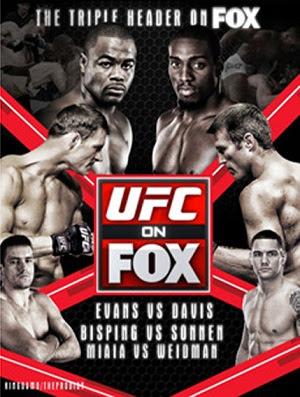 UFC on Fox 2: Evans vs Davis  HDTV