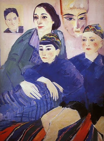 Martiros Saryan - My family, 1929