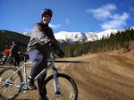 Jeff, mountain biker extraordinaire