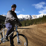 Jeff, mountain biker extraordinaire