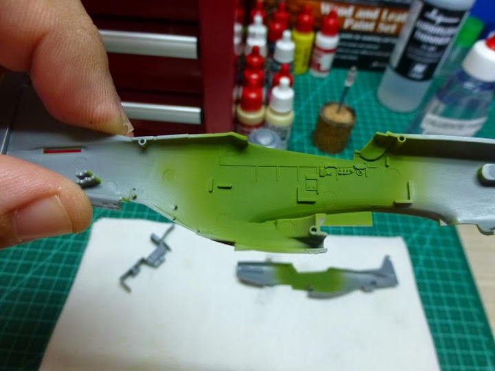 """P-51D """"The Enchantress"""" - Tamiya 1:72 - Finalizado 04Set2015 P1090515"""