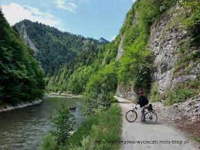 na zdjęciu Dunajec